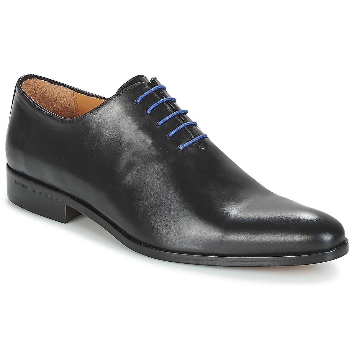 Snerovaci spolecenska obuv Brett & Sons AGUSTIN Černá