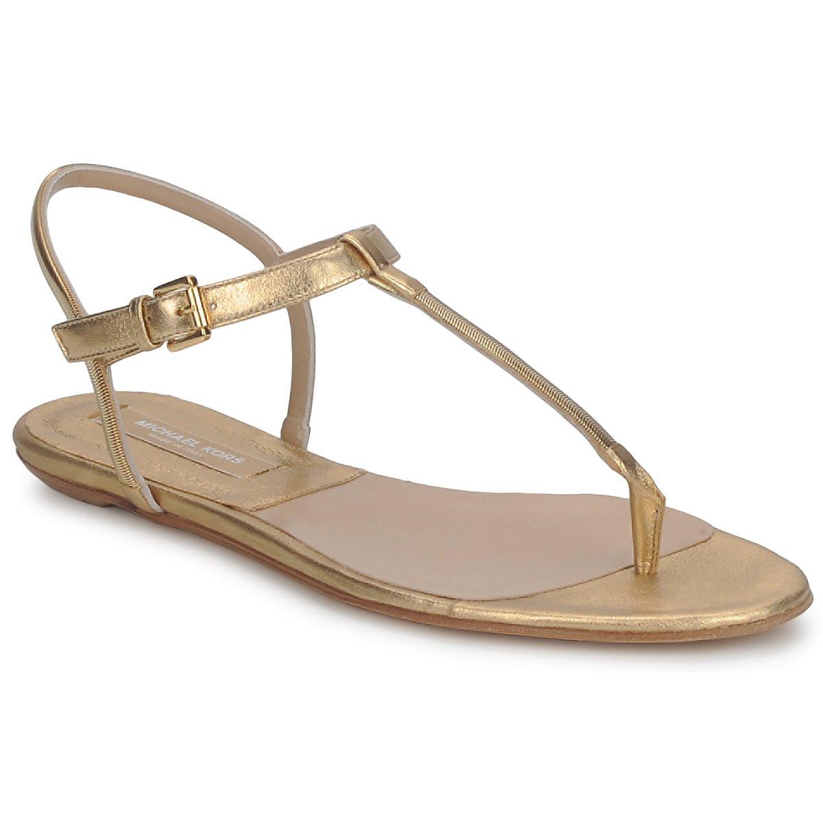 Sandaly Michael Kors MK18017 Zlatá