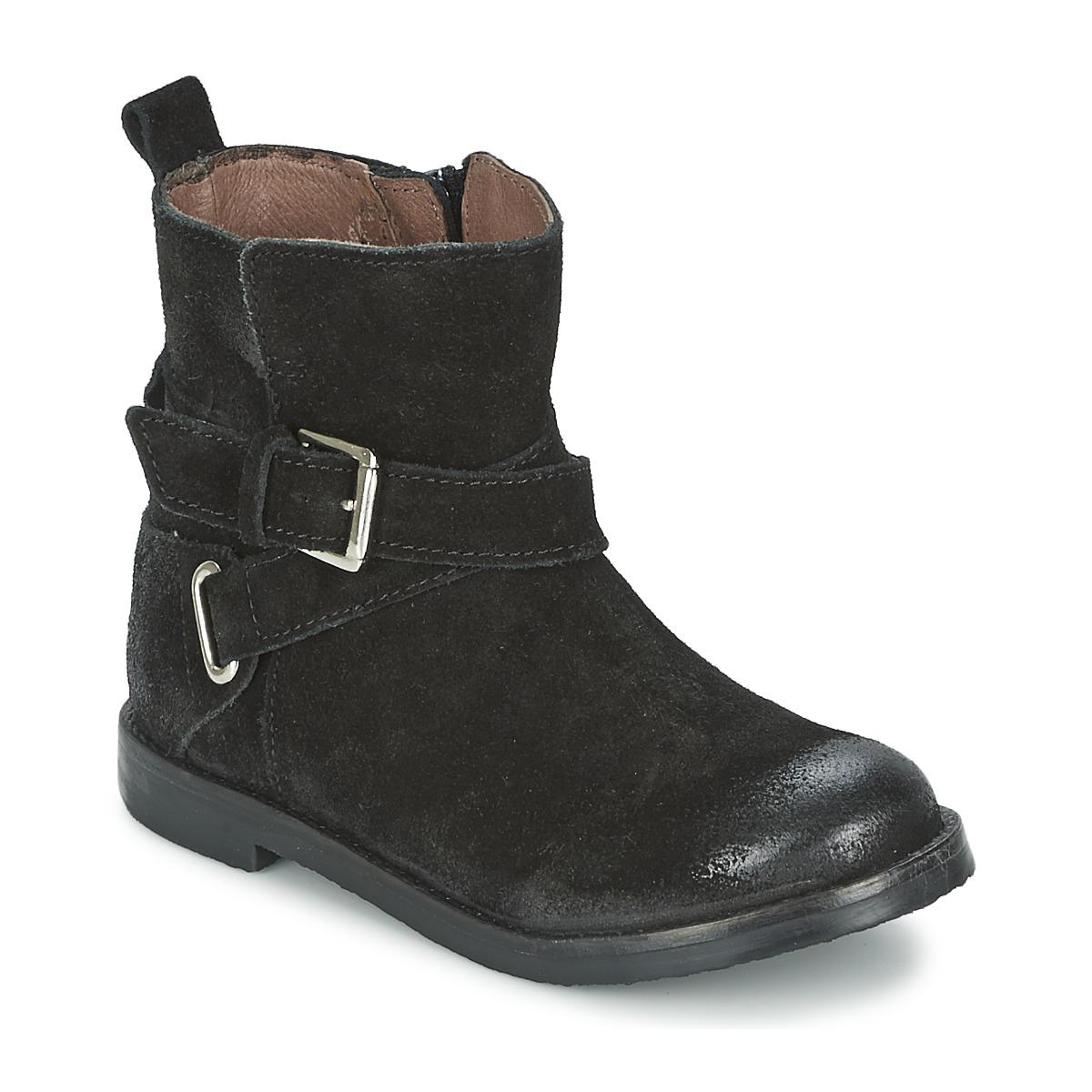 Kotnikove boty Aster NINON Černá