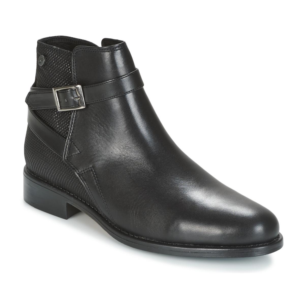 Kotnikove boty BT London NORINA Černá