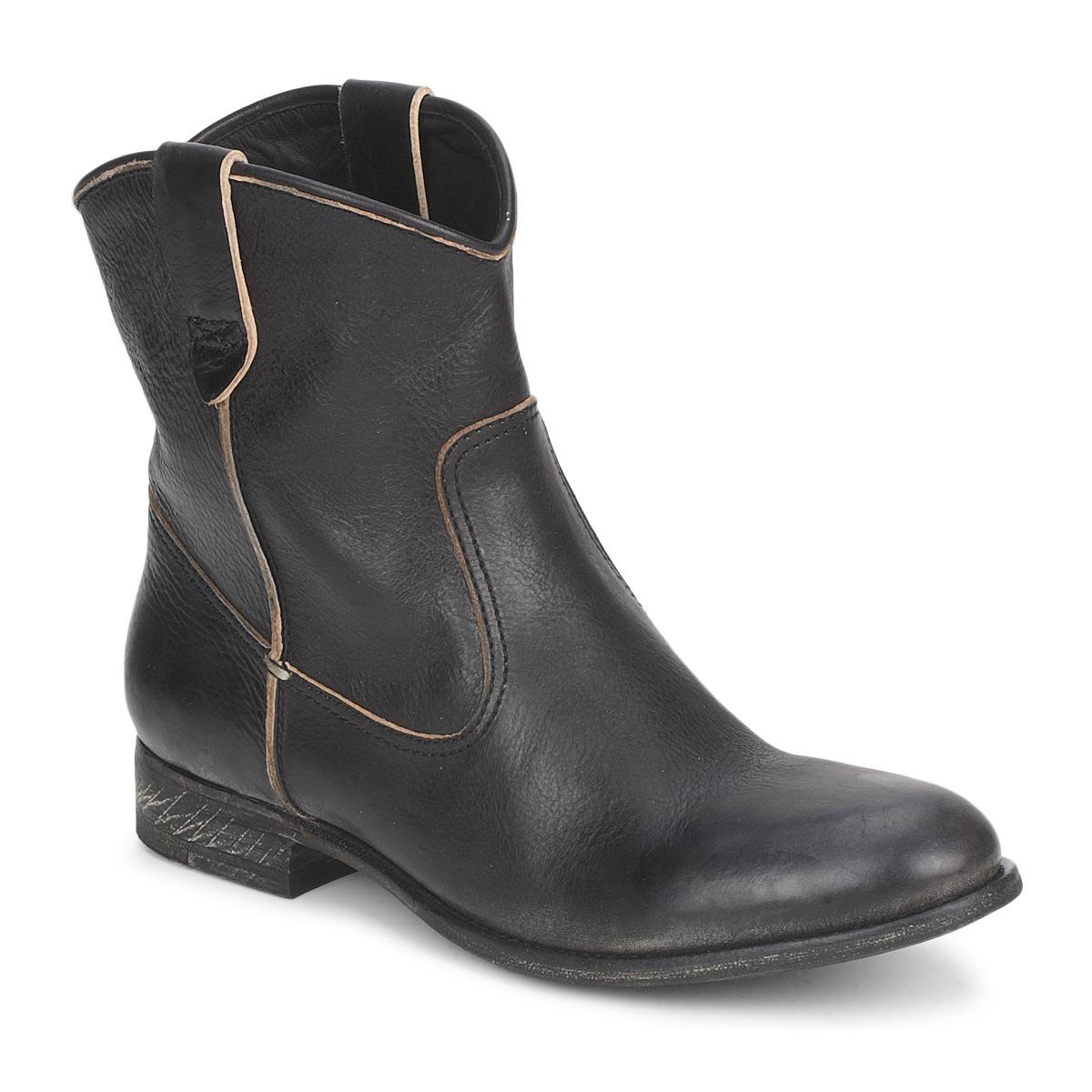 Kotnikove boty n.d.c. SAN MANUEL CAMARRA SLAVATO Černá
