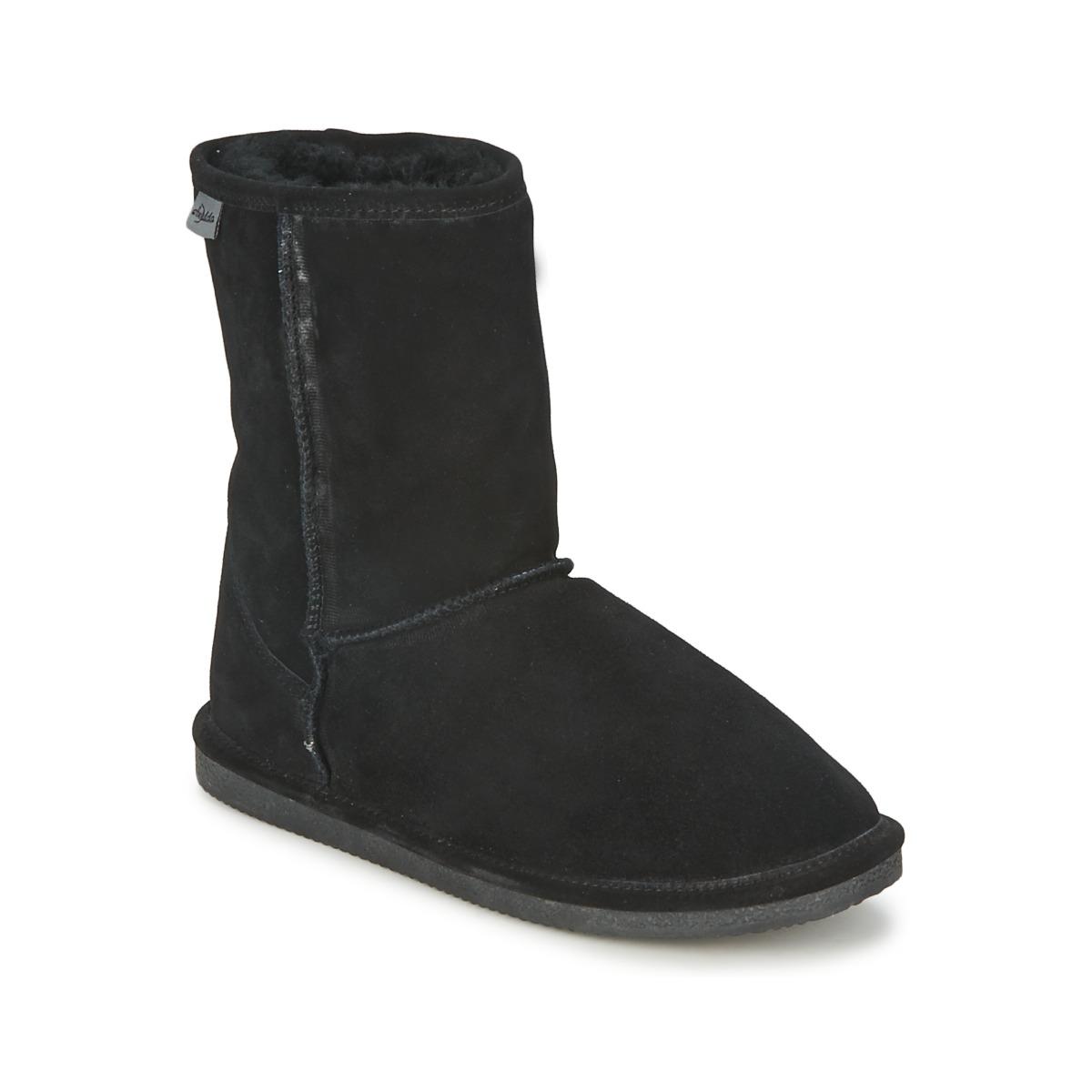 Kotnikove boty Axelda  Černá