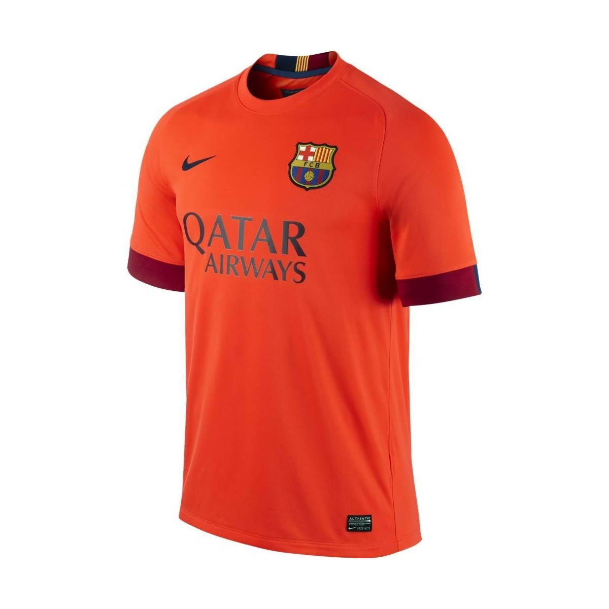 Football nike maillot fc barcelone ext rieur 2014 15 for Barcelone maillot exterieur