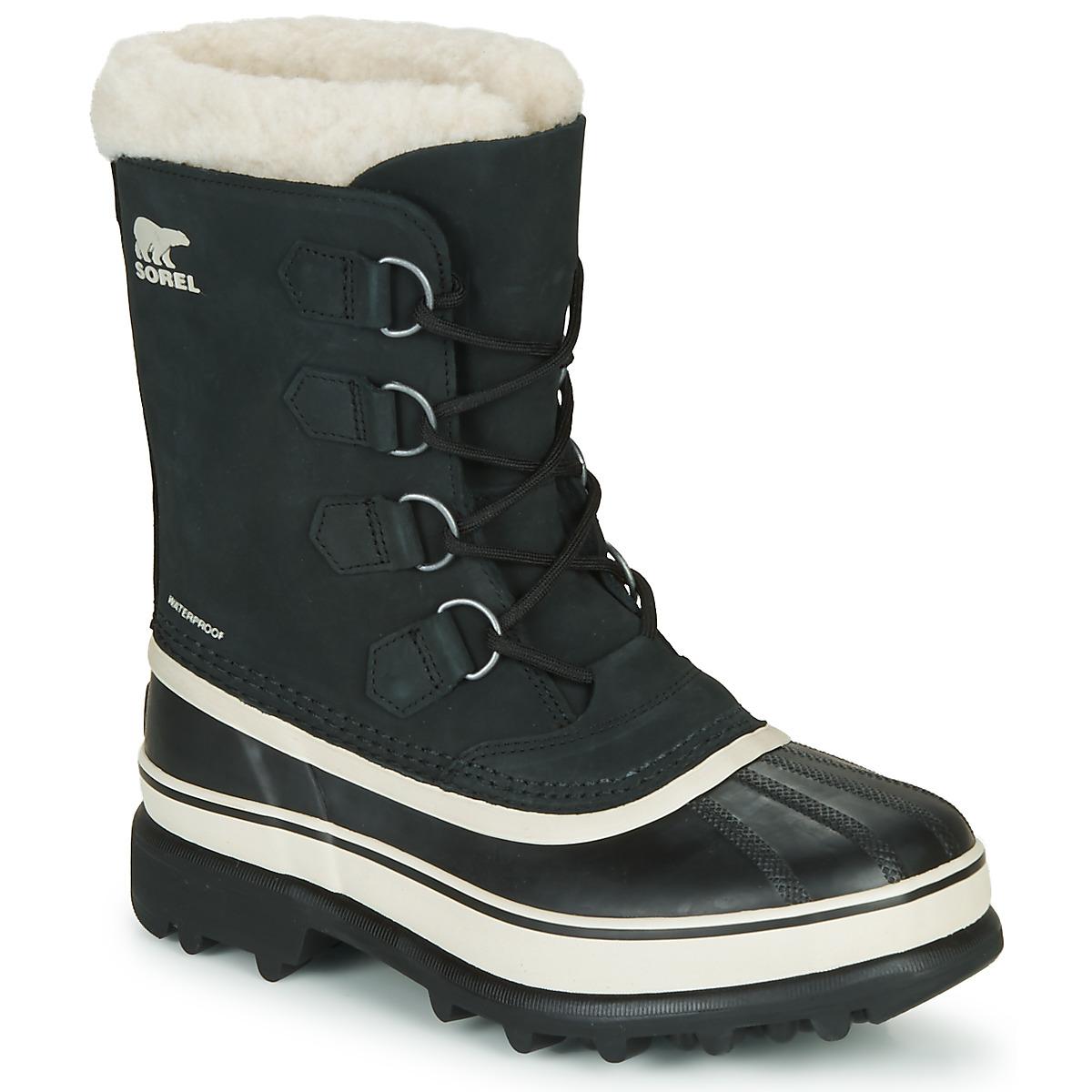 Zimni boty Sorel CARIBOU Černá