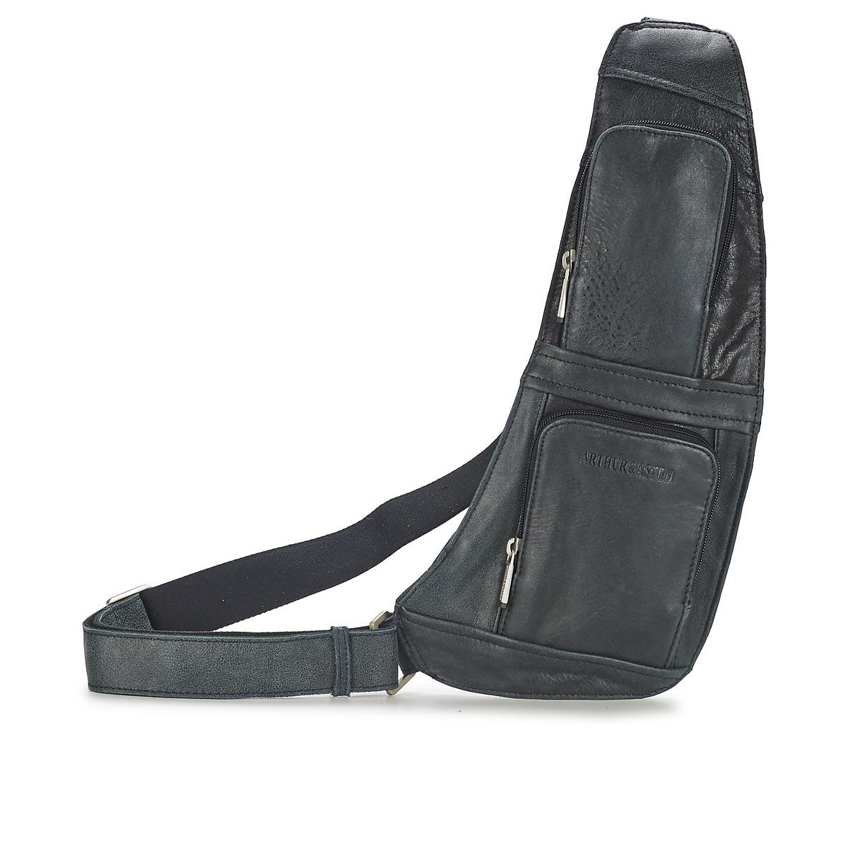 Male kabelky Arthur & Aston MIGUEL Černá