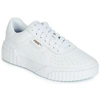Boty Ženy Nízké tenisky Puma CALI Bílá