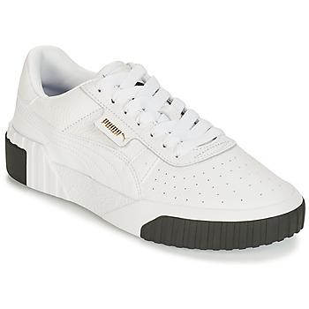 Boty Ženy Nízké tenisky Puma CALI Bílá / Černá