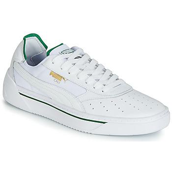 Boty Muži Nízké tenisky Puma CALI.WH-AMAZON GREEN-WH Bílá / Zelená