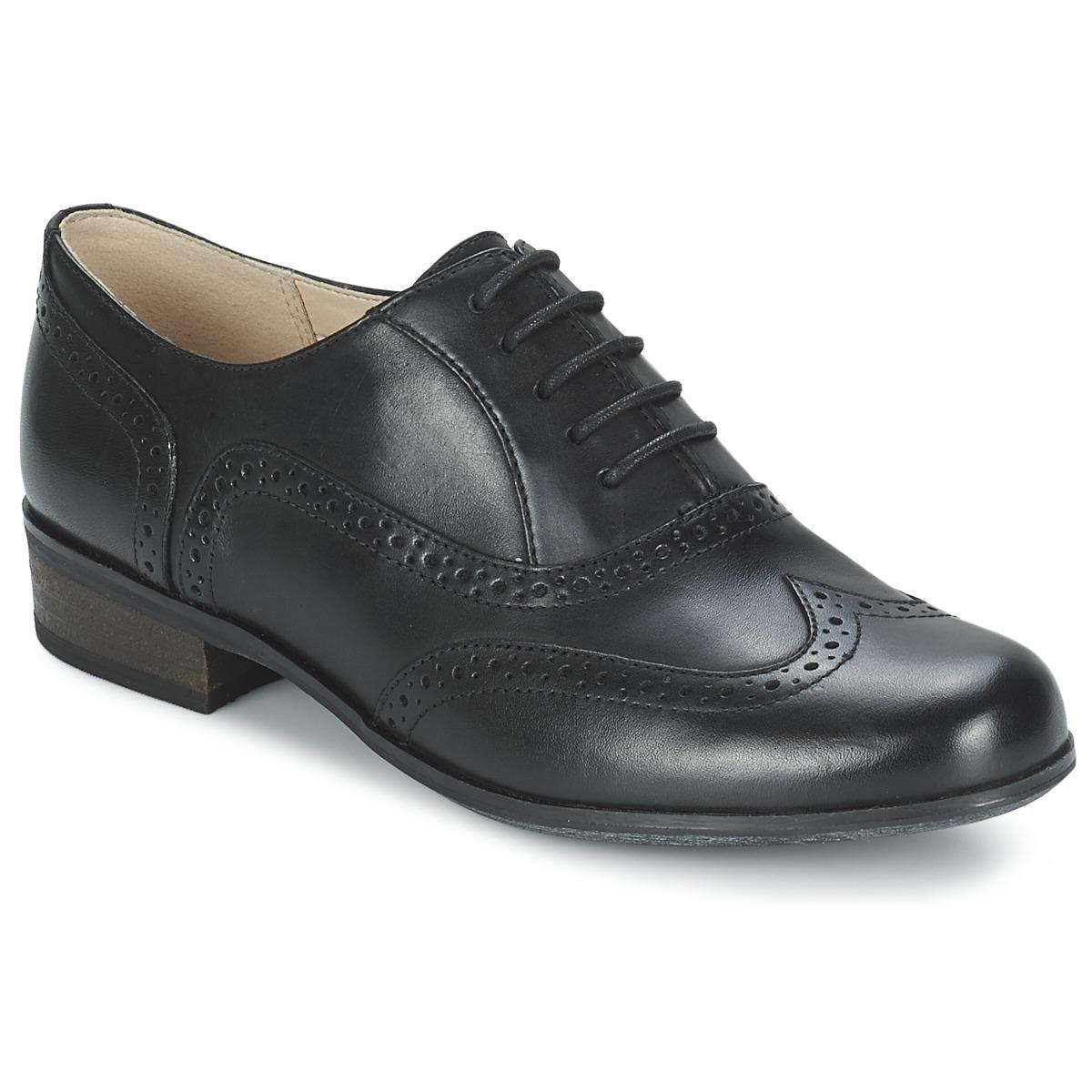 Snerovaci spolecenska obuv Clarks HAMBLE OAK Černá
