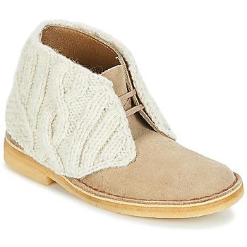 Clarks Kotníkové boty DESERT BOOT - Hnědá
