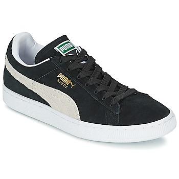 Boty Nízké tenisky Puma SUEDE CLASSIC Černá / Bílá