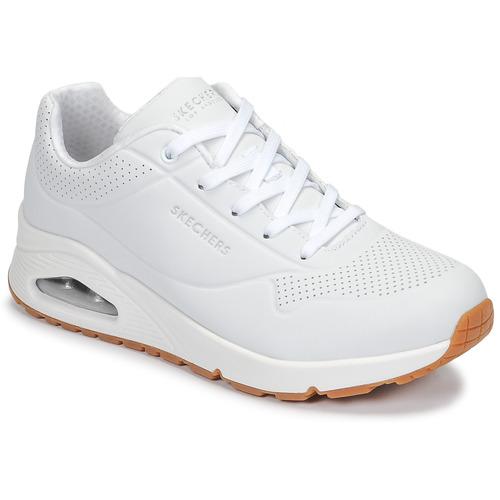 Boty Ženy Nízké tenisky Skechers UNO Bílá
