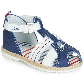 Boty Děti Sandály GBB COCORIKOO Modrá