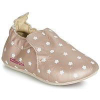 Boty Dívčí Papuče Catimini CARA Růžová / Zlatá