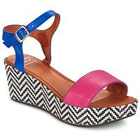Boty Ženy Sandály Betty London COQUETTE Fuchsiová / Modrá