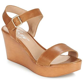 Boty Ženy Sandály Betty London CHARLOTA Hnědá