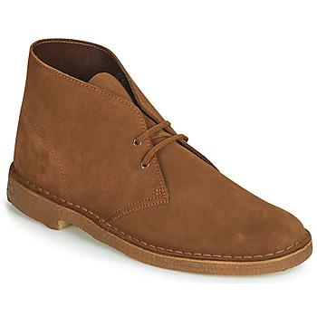 Boty Muži Kotníkové boty Clarks Desert Boot Hnědá