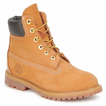 Boty Ženy Kotníkové boty Timberland 6 IN PREMIUM BOOT Béžová