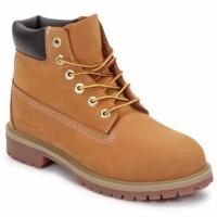 Boty Děti Kotníkové boty Timberland 6 IN PREMIUM WP BOOT Hnědá