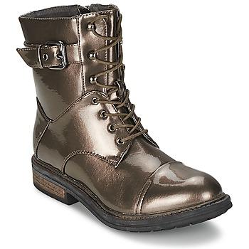 Boty Ženy Kotníkové boty Les P'tites Bombes STONE Stříbřitá