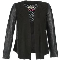 Textil Ženy Kožené bundy / imitace kůže Naf Naf COCOTTE Černá
