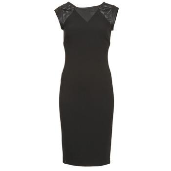 Naf Naf Krátké šaty EPOIS - Černá