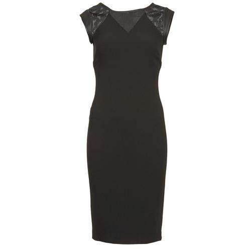 Textil Ženy Krátké šaty Naf Naf EPOIS Černá