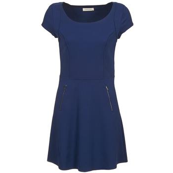 Naf Naf Krátké šaty KANT - Modrá