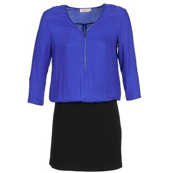 Textil Ženy Krátké šaty Naf Naf KIMON DR Modrá / Černá