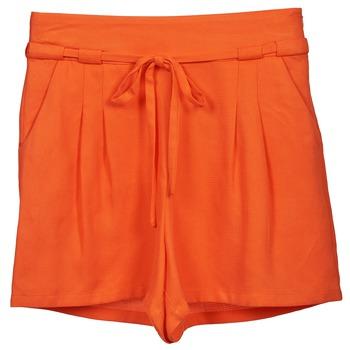 Textil Ženy Kraťasy / Bermudy Naf Naf KUIPI Oranžová