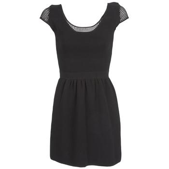 Naf Naf Krátké šaty MANGUILLA - Černá