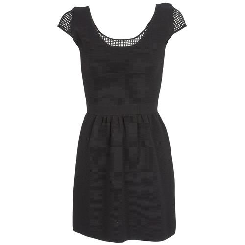 Textil Ženy Krátké šaty Naf Naf MANGUILLA Černá