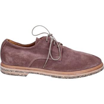 Boty Ženy Šněrovací společenská obuv Moma Kotníkové Boty BT145 Fialový