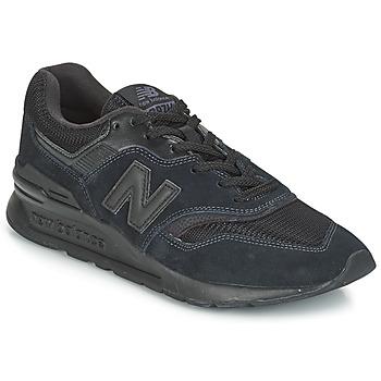 Boty Nízké tenisky New Balance CM997 Černá