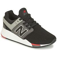 Boty Chlapecké Nízké tenisky New Balance GS247 Černá