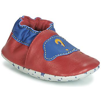 Boty Chlapecké Papuče André LES BULLES Červená