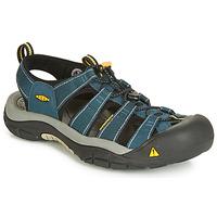 Boty Muži Sportovní sandály Keen NEWPORT H3 Tmavě modrá