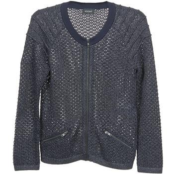 Textil Ženy Svetry / Svetry se zapínáním Kookaï TOULIA Tmavě modrá