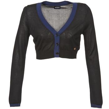 Textil Ženy Svetry / Svetry se zapínáním Kookaï BALOUE Černá