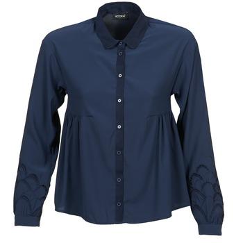 Textil Ženy Košile / Halenky Kookaï QUELATE Tmavě modrá