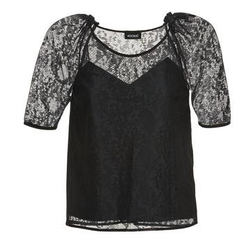 Textil Ženy Halenky / Blůzy Kookaï BASALOUI Černá