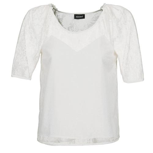 Textil Ženy Halenky / Blůzy Kookaï BASALOUI Bílá