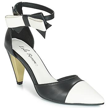 Boty Ženy Sandály Lola Ramona RAMONA Černá / Bílá