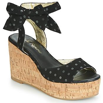 Boty Ženy Sandály Lola Ramona NINA Černá