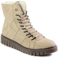 Boty Ženy Kotníkové boty Rieker Y342060 Béžové