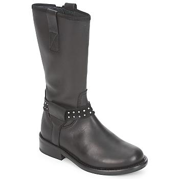 Boty Dívčí Kotníkové boty Hip GRABI Černá