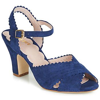 Boty Ženy Sandály Miss L'Fire BEATRIZ Modrá