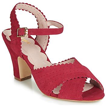 Boty Ženy Sandály Miss L'Fire BEATRIZ Červená