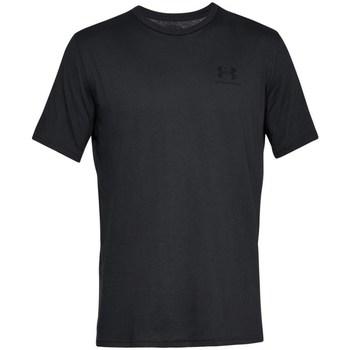 Textil Muži Trička s krátkým rukávem Under Armour Sportstyle Left Chest Černé