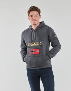 Textil Muži Mikiny Geographical Norway GYMCLASS Šedá